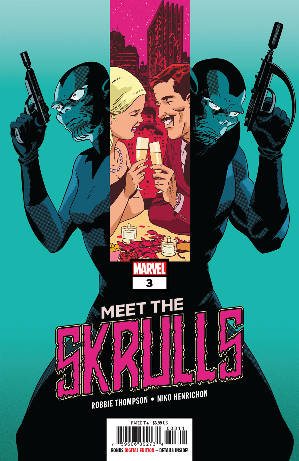 MEET THE SKRULLS #3 (OF 5)