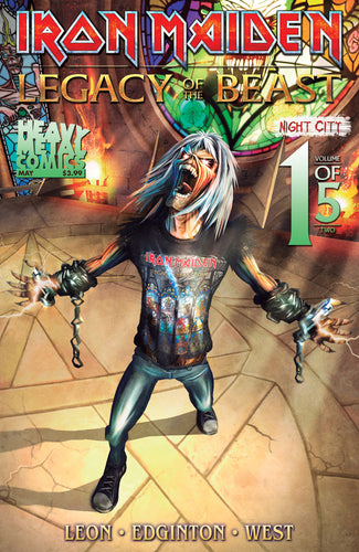IRON MAIDEN LEGACY O/T BEAST VOL 2 NIGHT CITY #1 CVR A CASAS