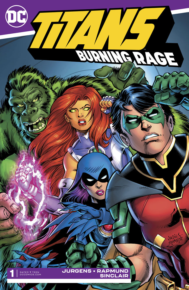 TITANS BURNING RAGE #1 (OF 7)