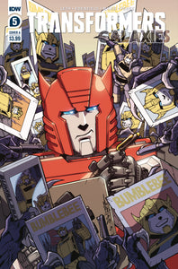 TRANSFORMERS GALAXIES #5 CVR A MILNE (C: 1-0-0)