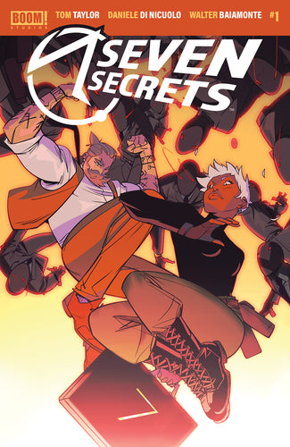 SEVEN SECRETS #1 MAIN COVER