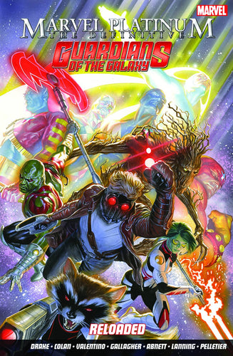 MARVEL PLATINUM DEFINITIVE GUARDIANS OF THE GALAXY RELOADED TP