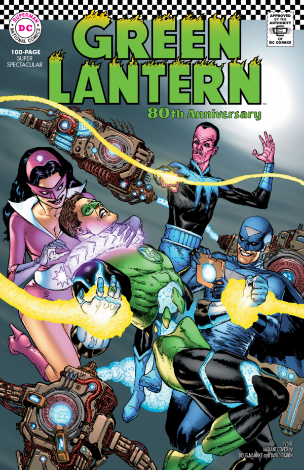 GREEN LANTERN 80th Anniversary 100-page super spectacular 1960s variant