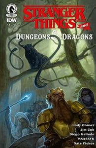 STRANGER THINGS AND DUNGEONS & DRAGONS #3 of 4
