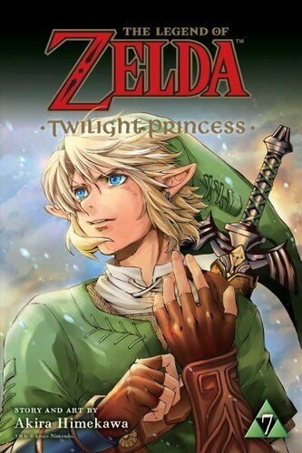 LEGEND OF ZELDA TWILIGHT PRINCESS GN VOL 07