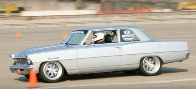 1966 Chevy Nova Put to the Test, Powered By BluePrint Engine