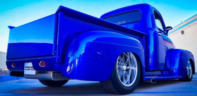 "Check Out this ""Super Blue"" Ford Cab"