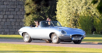 Quite the Getaway Car: Prince Harry and Meghan Markle's Vintage Jaguar E-Type
