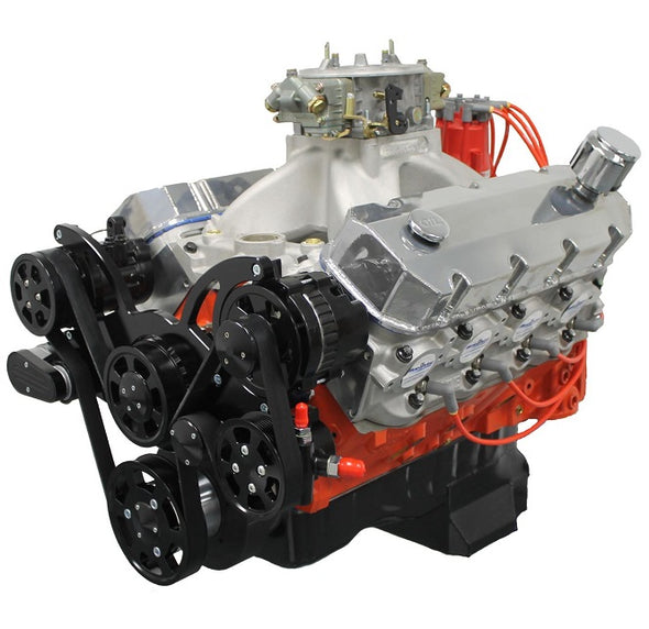<b>496 Cubic Inch</b> <br>BBC Engines<br>Up to 600 HP<br>Starting at $5,299.00<br>Standard Deck