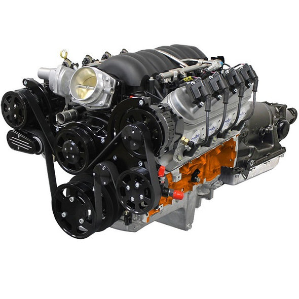 GM LS COMPATIBLE<br><b>427 CUBIC INCH</b><br>ENGINE AND TRANSMISSION PACKAGES