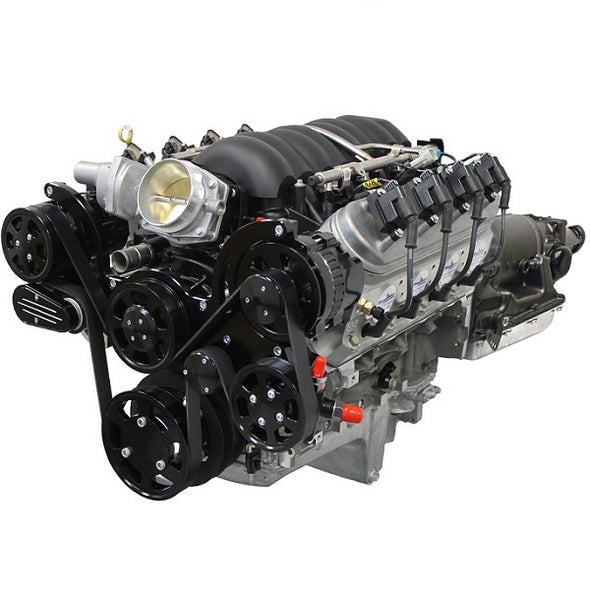 GM LS COMPATIBLE<br><b>376 CUBIC INCH</b><br>ENGINE AND TRANSMISSION PACKAGES