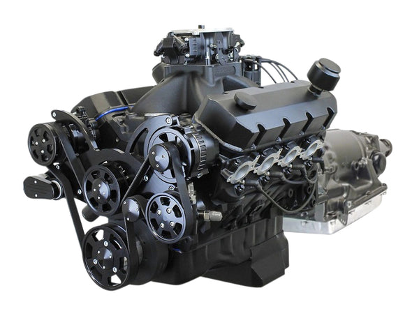 GM COMPATIBLE<br><b>632 CUBIC INCH</b><br>ENGINE AND TRANSMISSION PACKAGES