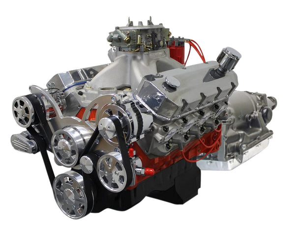 GM COMPATIBLE<br><b>598 CUBIC INCH</b><br>ENGINE AND TRANSMISSION PACKAGES