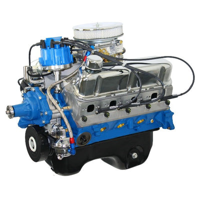BluePrint Engines 306CI Crate Engine | Small Block Ford Style | Dressed Longblock with Carburetor  | Aluminum Heads | Roller Cam | Drop in ready