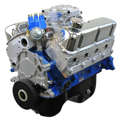 BluePrint Engines 306CI Crate Engine | Small Block Ford Style | Dressed Longblock with Fuel Injection | Aluminum Heads | Roller Cam