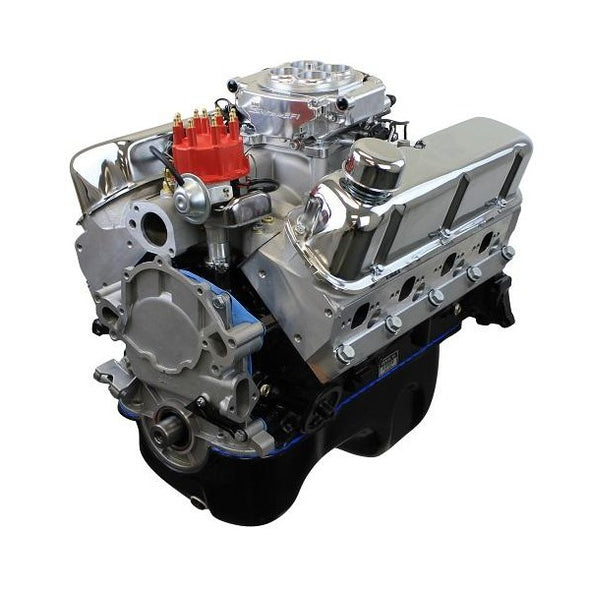BluePrint Engines 347CI Stroker Crate Engine | Small Block Ford Style | Dressed Longblock with Fuel Injection | Aluminum Heads | Roller Cam