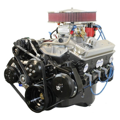 350CI Crate Engine | Small Block GM Style | Dressed Longblock | Complete Drop In with Pulley Kit