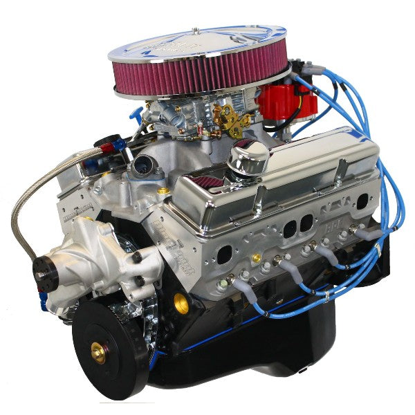 Blueprint engines 383ci stroker crate engine small block gm style blueprint engines 383ci stroker crate engine small block gm style dressed longblock with carburetor aluminum heads roller cam drop in ready malvernweather Images