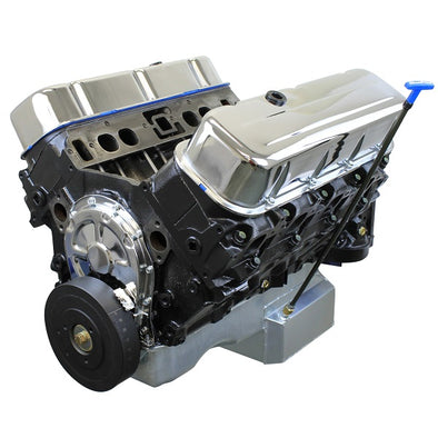 BluePrint Engines 496 Stroker Crate Engine | Big Block Chevy 454 Style | Longblock | Iron Heads | Flat Tappet Cam