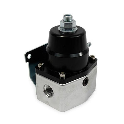 EFI BILLET ALUMINUM FUEL PRESSURE BYPASS REGULATOR | 40-75 PSI | BLACK