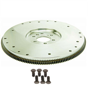 GM CHEVY SB 2-PIECE REAR MAIN SEAL or BB INTERNAL BALANCE SFI FLYWHEEL | STEEL | 168-TOOTH | 30 LBS