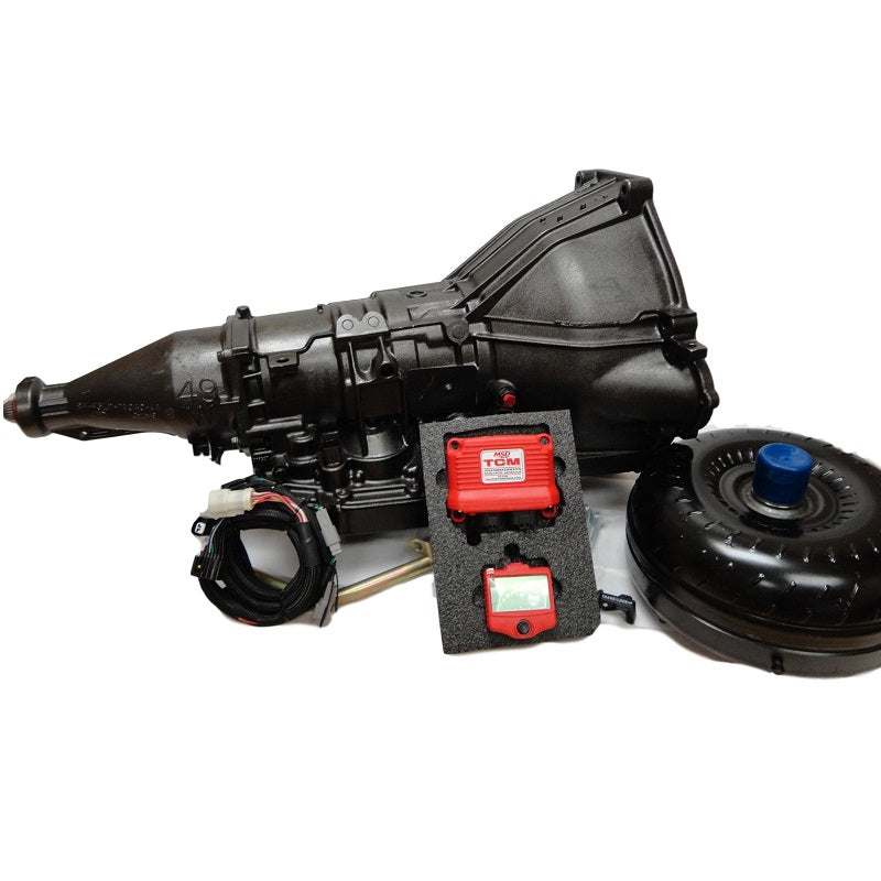 FORD SB 4R70W PACKAGE | 4 SPEED AUTO KIT FOR SB FORD WINDSOR | WITH  CONTROLLER | 2200-2600 STALL CONVERTER