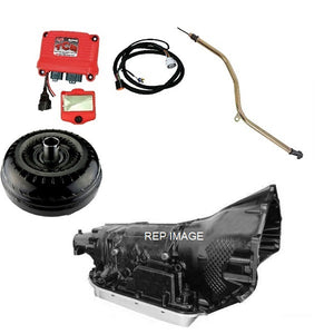 GM LS 4L70E PACKAGE | 4 SPEED AUTO KIT FOR GM LS ENGINES | WITH CONTROLLER | 2200-2600 STALL CONVERTER