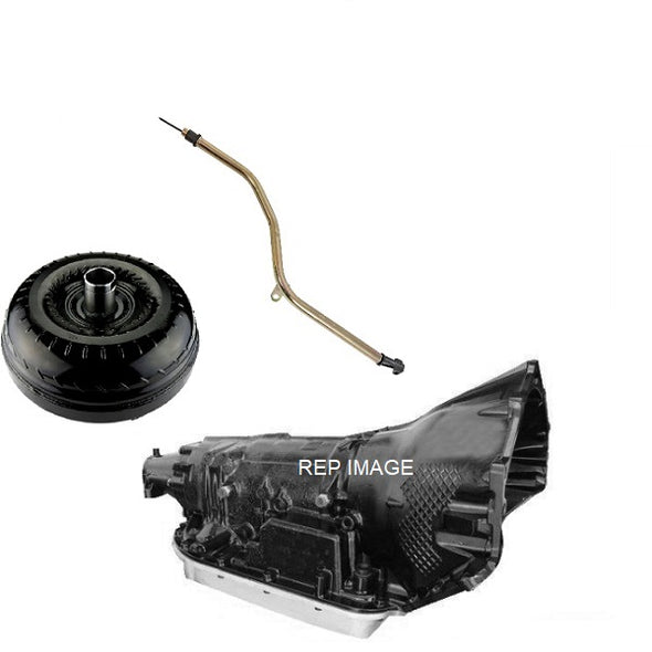 GM LS 4L70E PACKAGE | 4 SPEED AUTO KIT FOR GM LS ENGINES | NO CONTROLLER | 3200 STALL CONVERTER