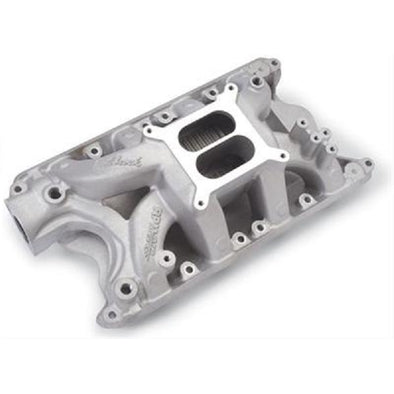 EDELBROCK PERFORMER RPM AIR-GAP SMALL BLOCK FORD INTAKE MANIFOLD | 351 DECK | WINDSOR HEADS | DUAL PLANE | NATURAL ALUMINUM