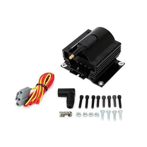 IGNITION COIL | EXTERNAL E-CORE | 50K VOLT | BLACK