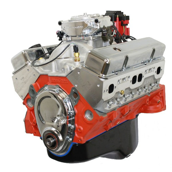 BluePrint Engines 400CI Stroker Crate Engine | Small Block GM Style | Dressed Longblock with EFI  | Aluminum Heads | Roller Cam