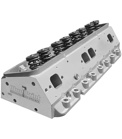 Small Block Chevy Aluminum Cylinder Head - 195cc - Assembled