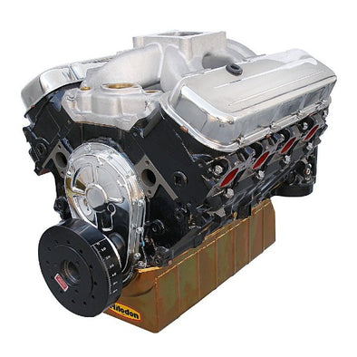 BluePrint Engines 496CI Stroker Marine Crate Engine | Big Block GM Style | Longblock | Iron Heads | Flat Tappet Cam