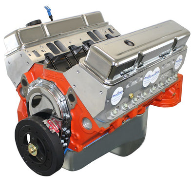 BluePrint Engines 454CI ProSeries Stroker Crate Engine | Small Block GM Style | Longblock | Aluminum Heads | Roller Cam