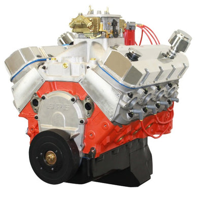Marine BluePrint Engines 632CI Pro Series Stroker Crate Engine | Big Block GM Style | Dressed Longblock with Carburetor  | Aluminum Heads | Roller Cam | 10.3L