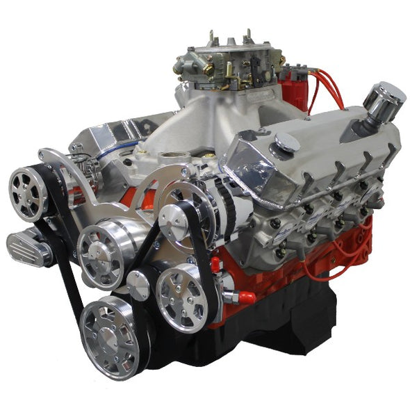 572 CI ProSeries Stroker Crate Engine | Big Block GM Style | BBC | Drop In Ready - Polished