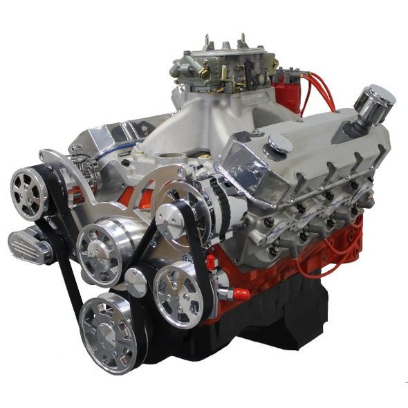 540 CI ProSeries Stroker Crate Engine | Big Block GM Style | BBC | Drop In Ready - Polished