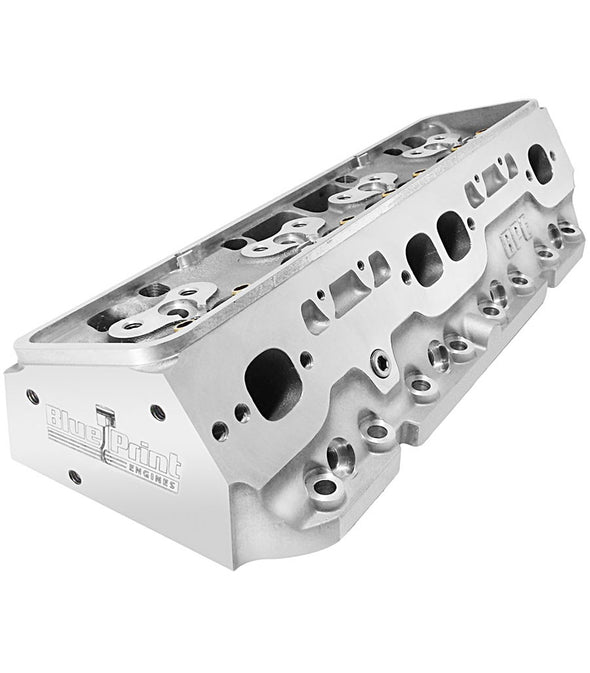 SB Chevy Aluminum Cylinder Head - 235cc - CNC Machined Ports - Bare