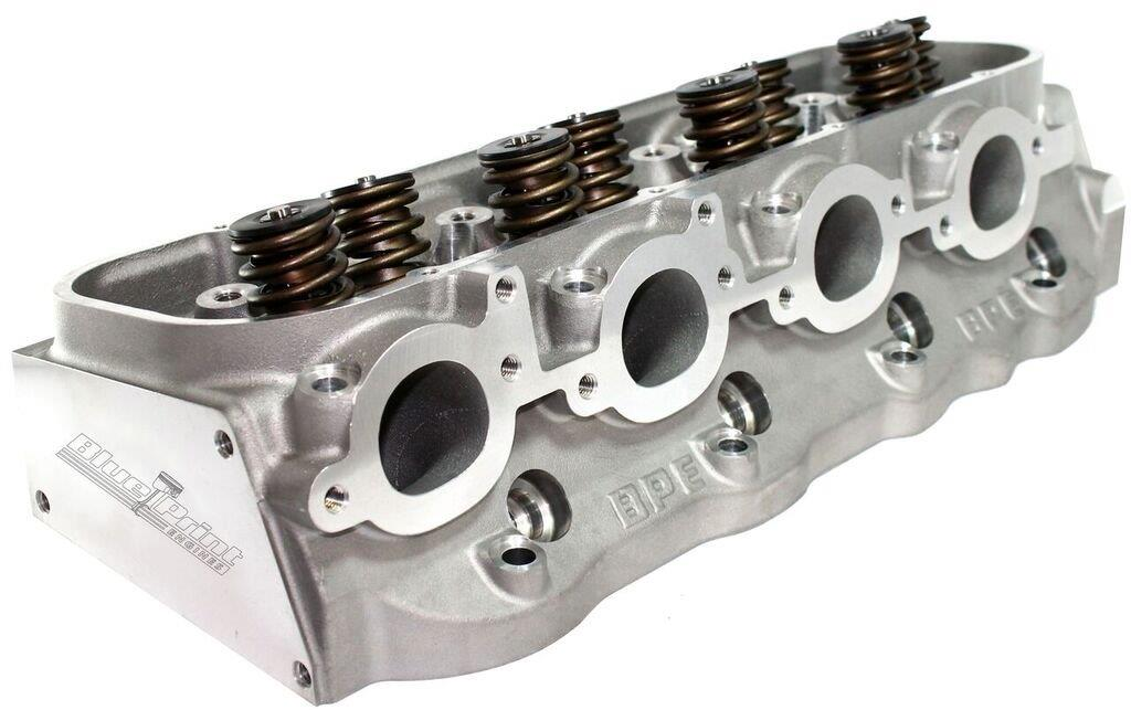 Gm Crate Engines >> BB Chevy Aluminum Cylinder Head - 358cc - Assembled – BluePrint Engines