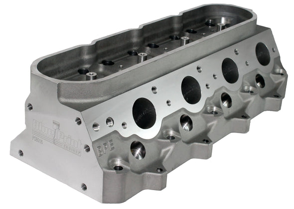 GM LS Aluminum Cylinder Head - 259cc - Extra Head Bolts - Assembled