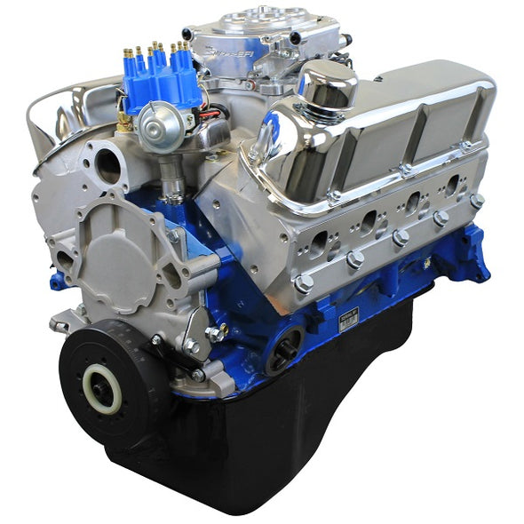 BluePrint Engines 302CI Crate Engine | Small Block Ford Style | Dressed Longblock with Fuel Injection | Aluminum Heads | Roller Cam