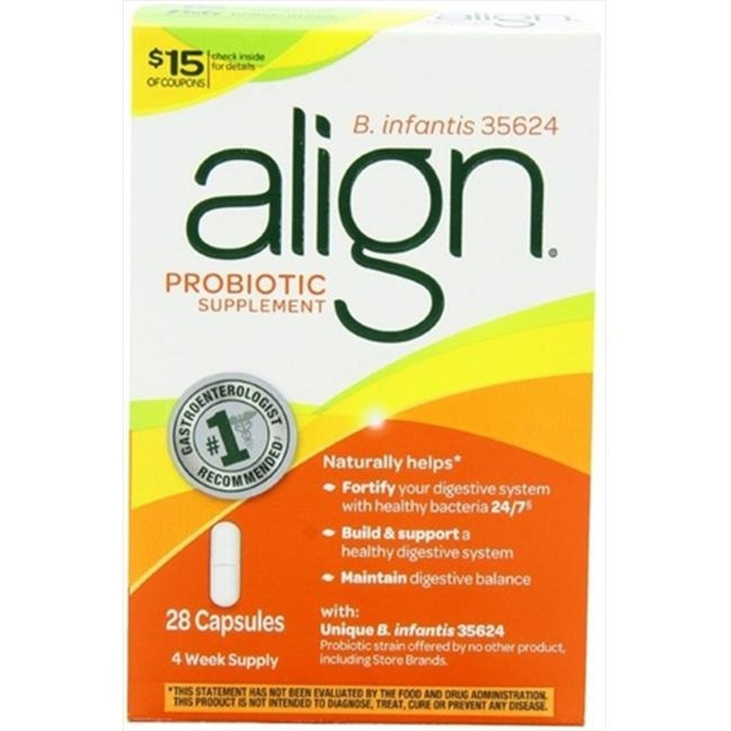 Align Digestive Care Probiotic Supplement, 28 Count