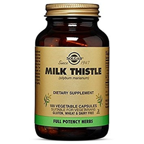 Solgar - Fp Milk Thistle Vegetable Capsules - 100