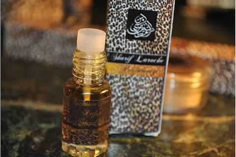 Egyptian Musk Black Natural Perfume  3ml