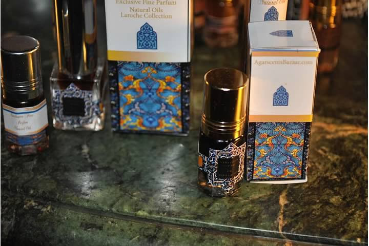 Ruh al Amber Black poolt Sharif LaRoche 3ml Classic Art Parfum