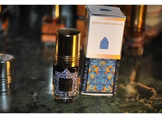 Black Ambergris India ookean Natural Perfume 3 ml