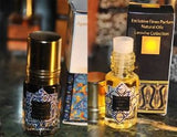 Black Ambergris India ookean 3ml & Ambergris White Gold 3ml