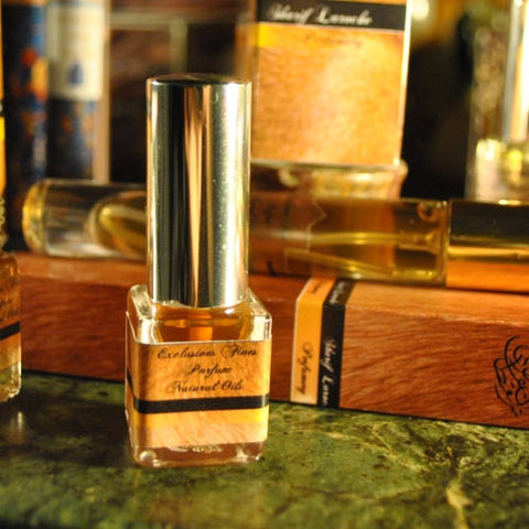 Pulverizador de perfume sólido natural Cigaro Honey Amber Natural 7ml