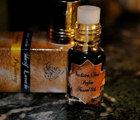 Mukhallat Al Misk #1 Parfum naturel 3ml