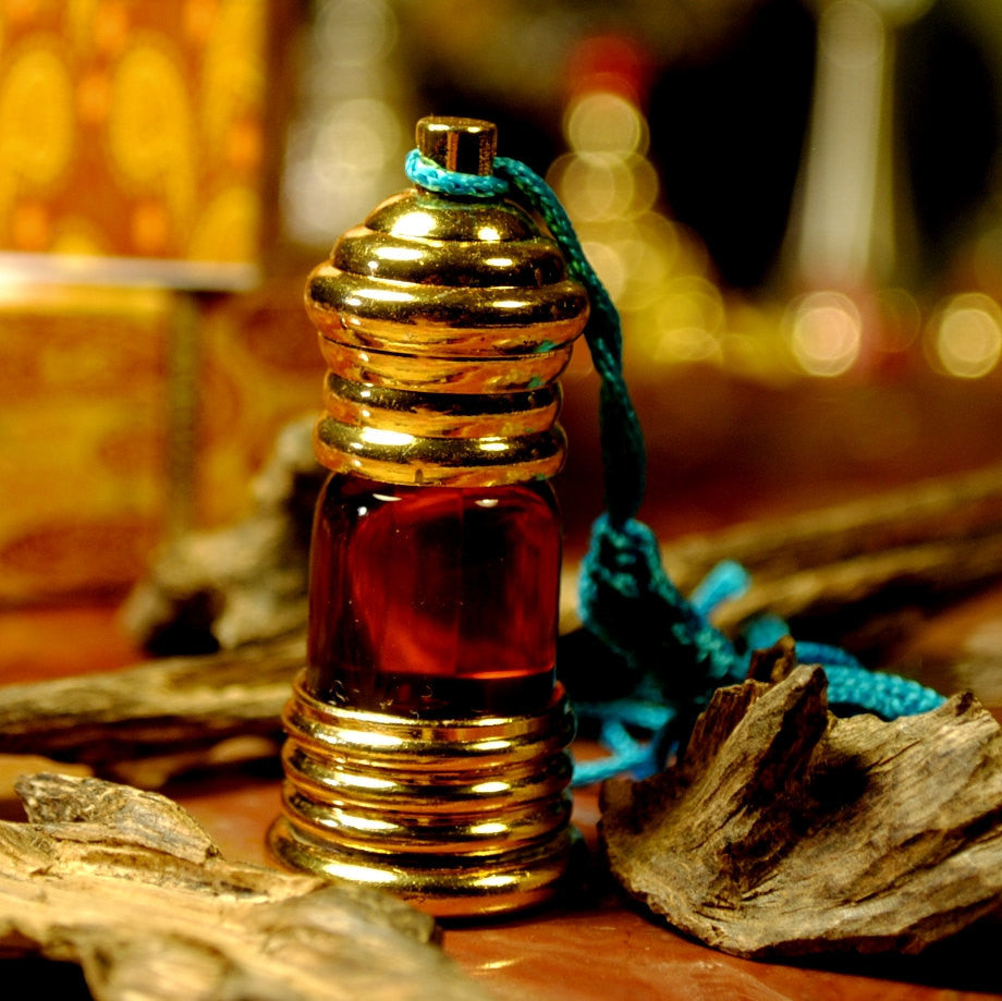 Ambergris Reddish Brown Mukahllat Perfume 3 ml